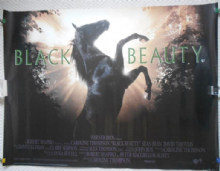 Black Beauty, Original UK Quad Film Poster, Sean Bean, David Thewlis, '94